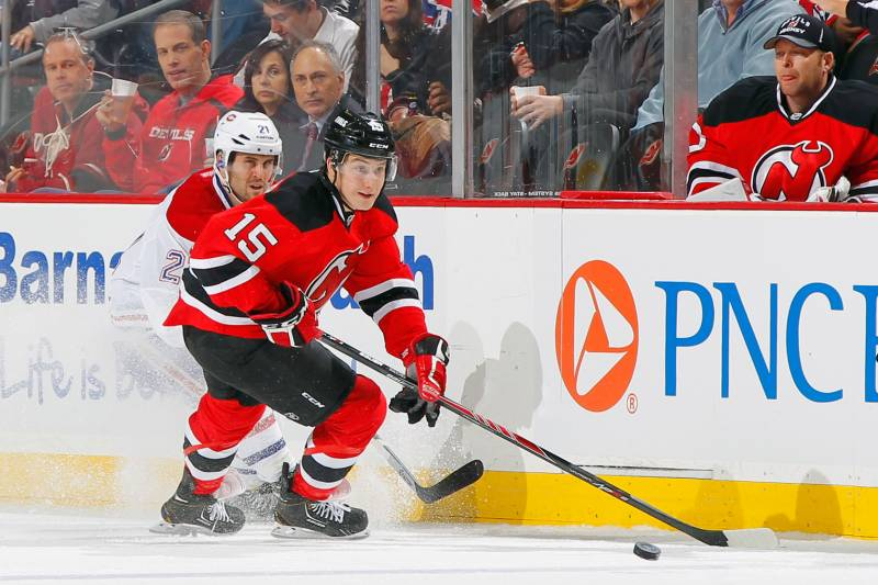 buy popular 7a0c2 31f6d Reid Boucher to Make NHL Debut Tonight for New Jersey Devils ...