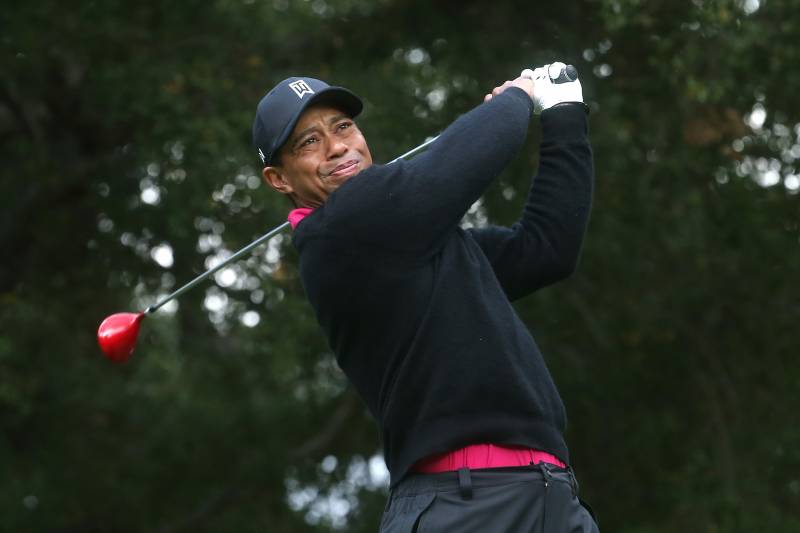 Tiger Woods At Northwestern Mutual World Challenge 2013 Day 2 Score