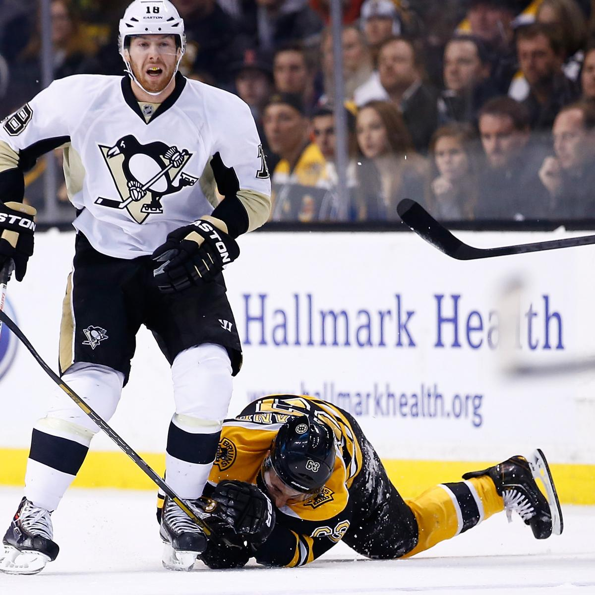 James Neal Suspended 5 Games For Hit On Brad Marchand