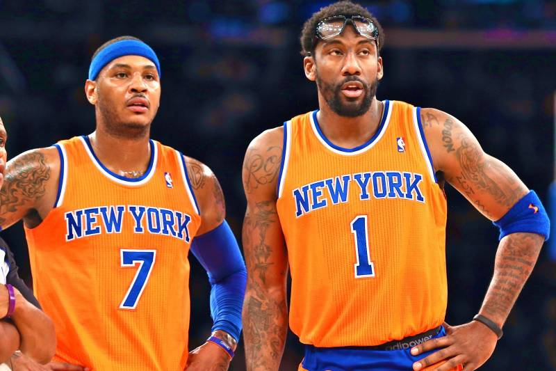 promo code a8857 99b34 Are New York Knicks' Hideous Orange Uniforms Cursed ...