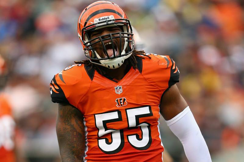 new concept fb59a 84b8d Why Vontaze Burfict Has Been the Cincinnati Bengals' MVP ...