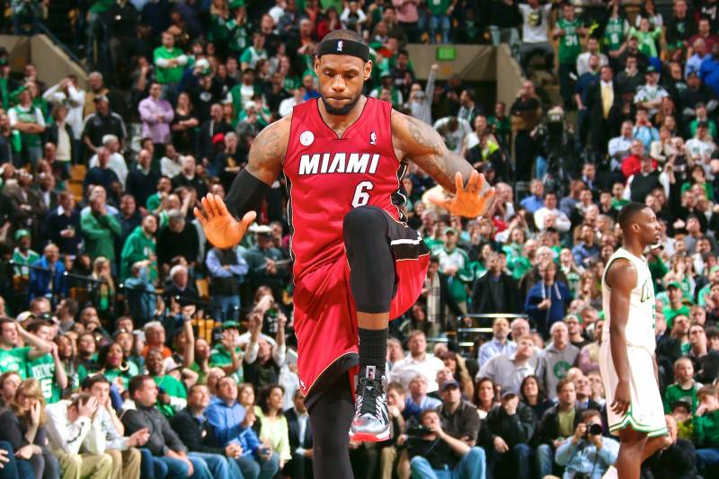 d462fd1b0b4 LeBron James Flattered by Football Players  Imitation of Celebration ...