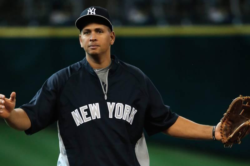 HOUSTON, TX - SEPTEMBER 27: Alex Rodriguez #13 of the New York Yankees