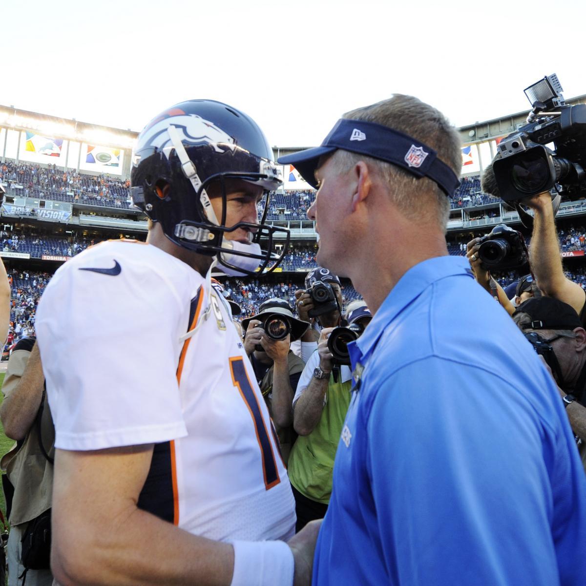 San Diego Chargers Denver Broncos Score
