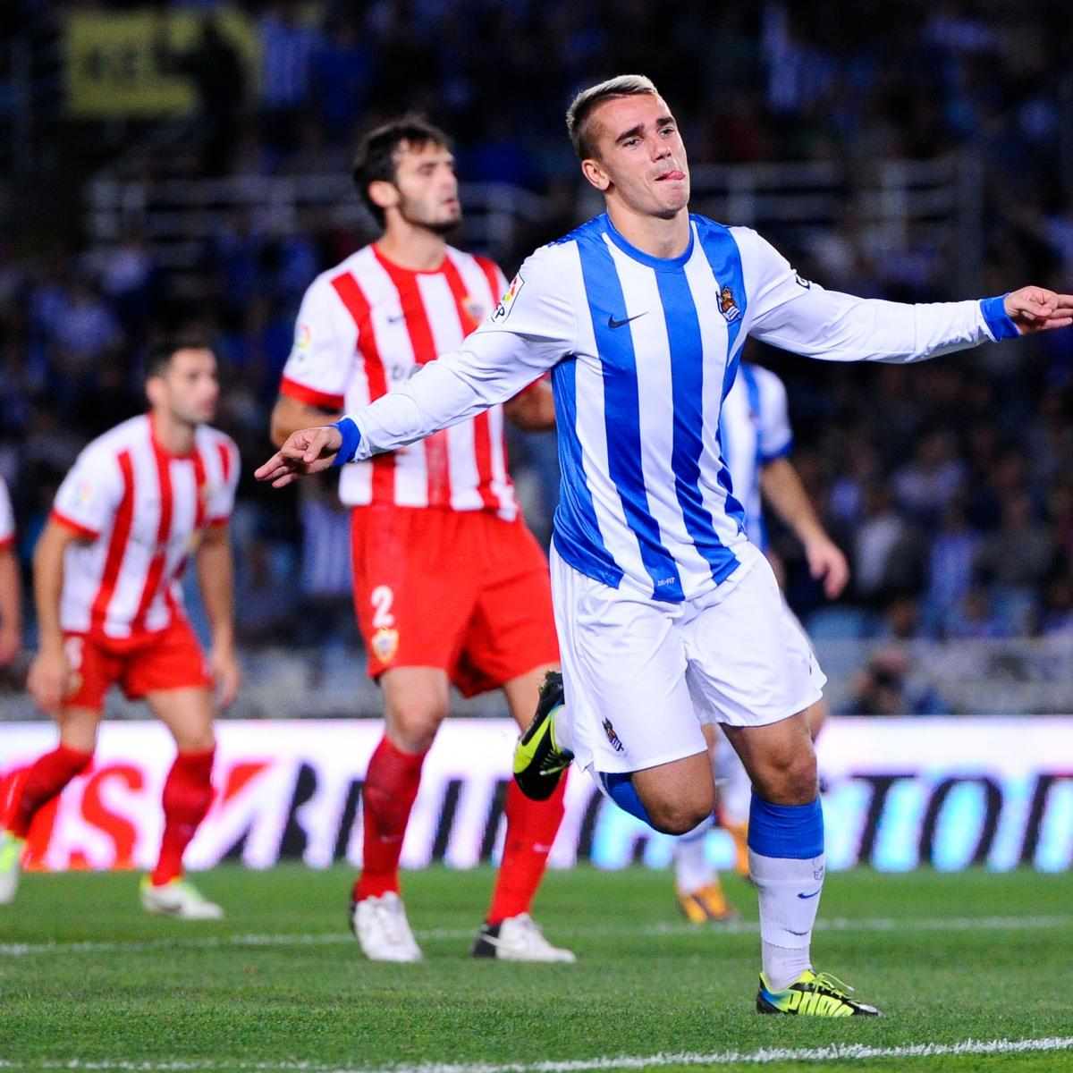 best loved aa3f4 195bb Scouting Report: Arsenal Target Transfer for Real Sociedad's ...