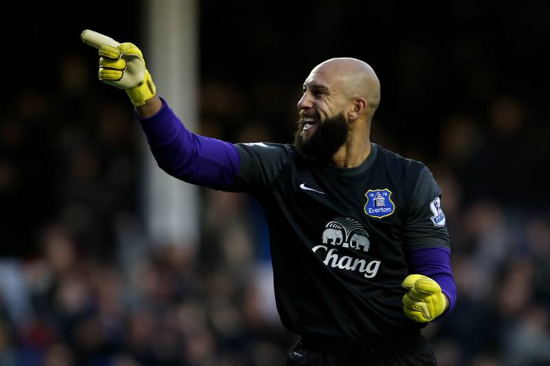 pretty nice 13acd 441db Tim Howard Quietly Recapturing His Best Form at Everton ...