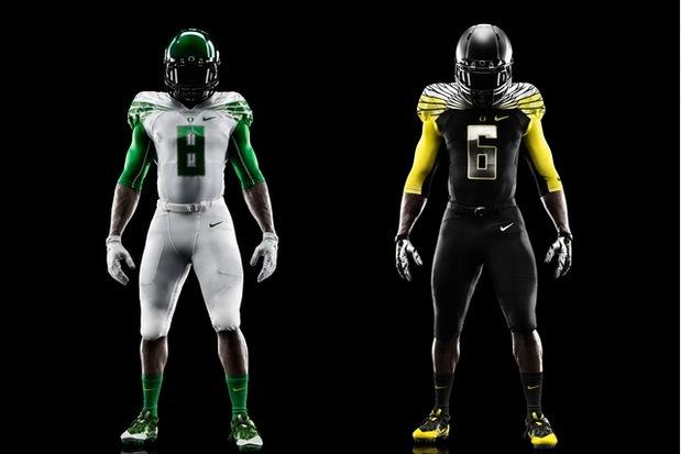 los angeles a55f6 e59d2 Nike Reveals Innovative New 'Mach Speed' Uniforms for Oregon ...