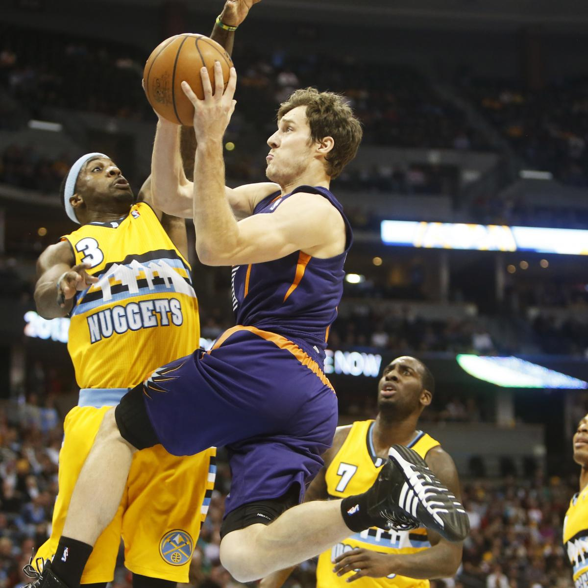 Phoenix Suns Usurp Denver Nuggets' Role As West Team Too