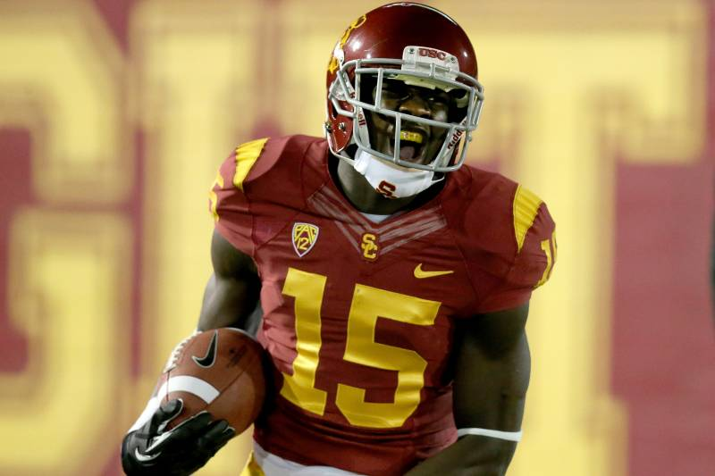 3604bbb1ecd Analyzing Nelson Agholor's Performance vs. Fresno State in Las Vegas ...