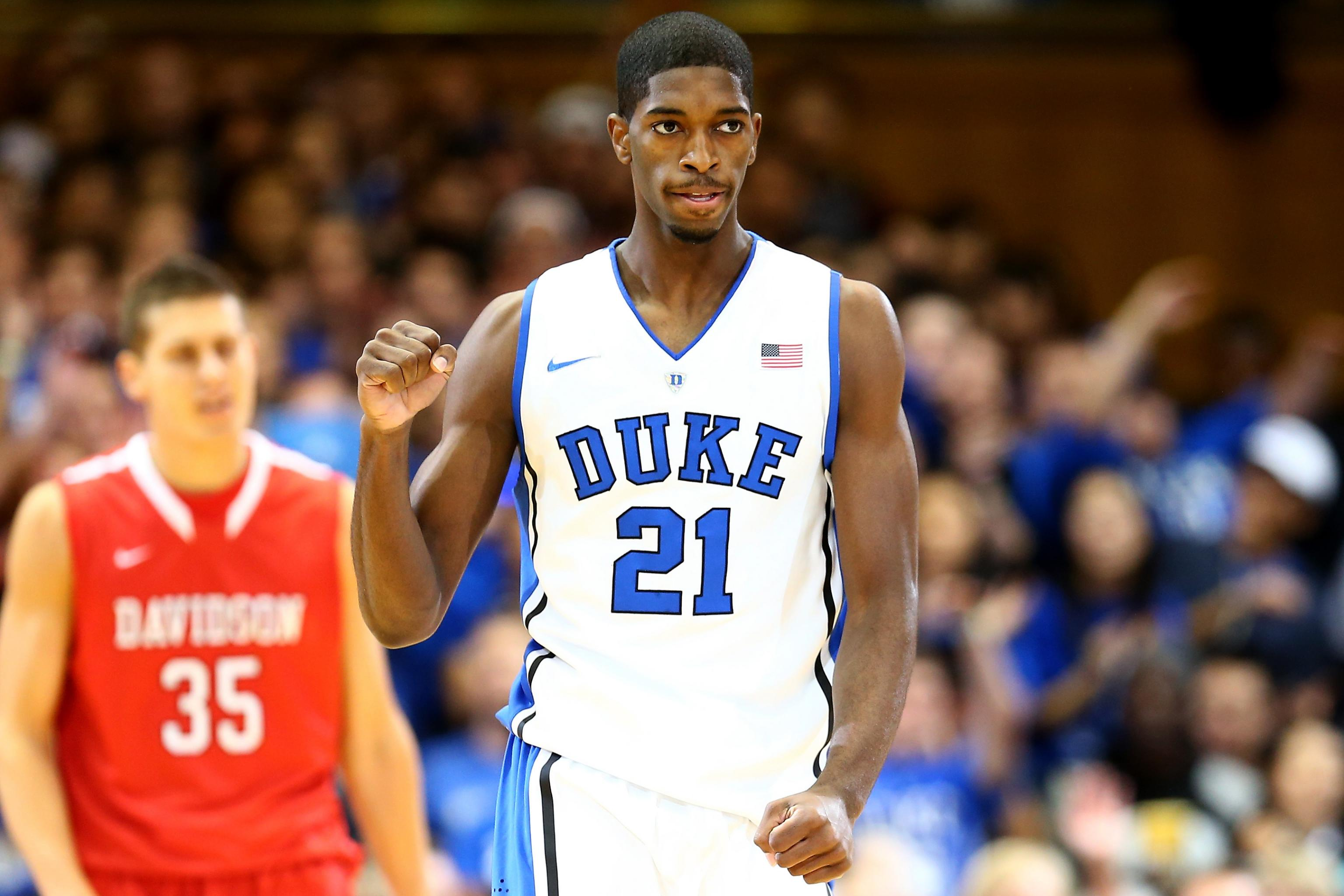 quality design c6203 0bde1 Duke Basketball: Why Blue Devils Will Be Counting on Amile ...