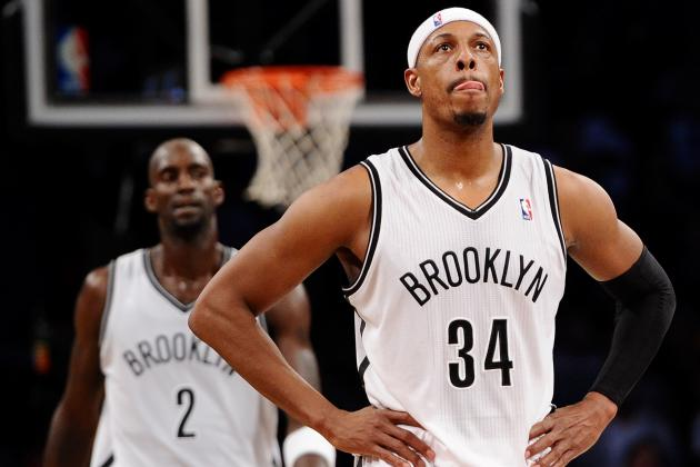 premium selection e047e 040c2 Kevin Garnett and Paul Pierce Failing to Give Brooklyn Nets ...