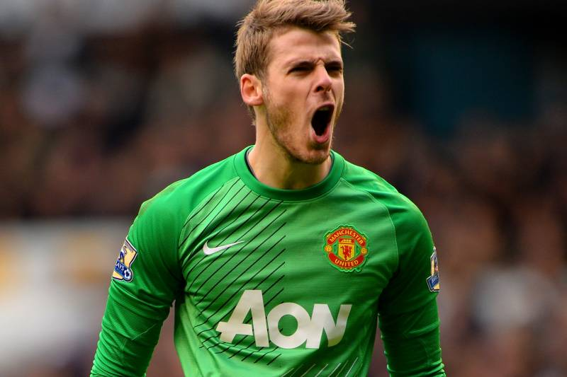 cheap for discount ed7ab ee75b David de Gea Was Manchester United's Player of 2013 ...