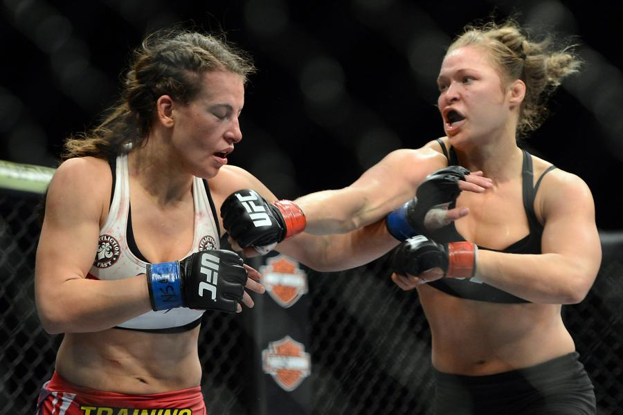 UFC 168 Video: Ronda Rousey Explains Why She Skipped Miesha Tate Handshake
