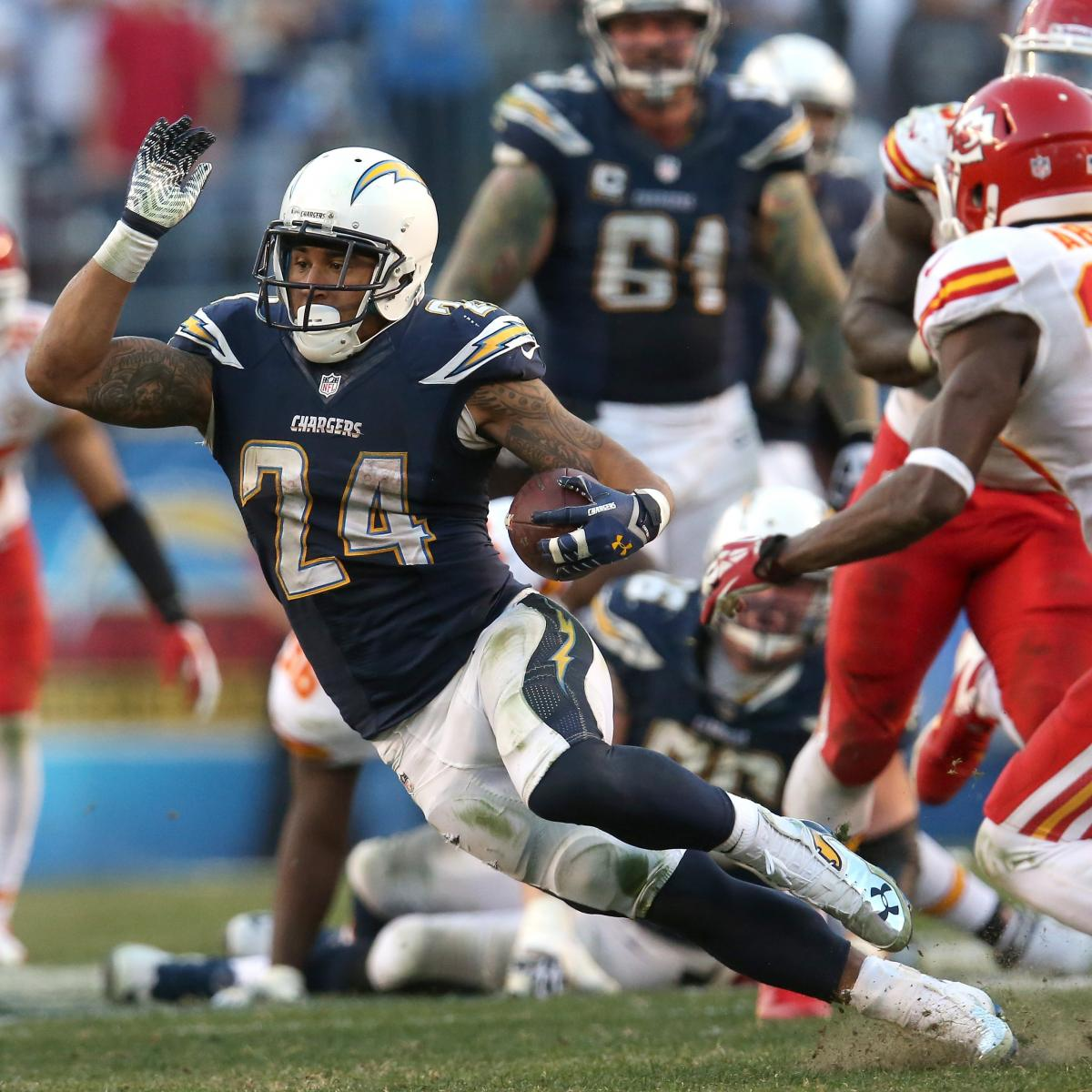 San Diego Chargers First Round Draft Picks: Ryan Mathews Is Finally Becoming An Elite NFL Running Back