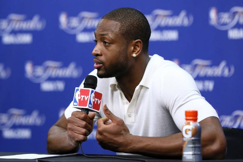 Dwyane Wade Calls New Son 'A Blessing,' Promises to Support Him