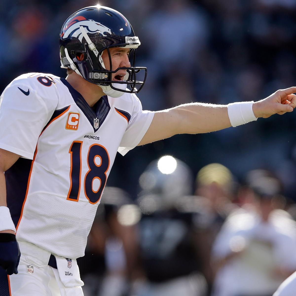 Denver Broncos: Analyzing Each Possible Divisional-Round