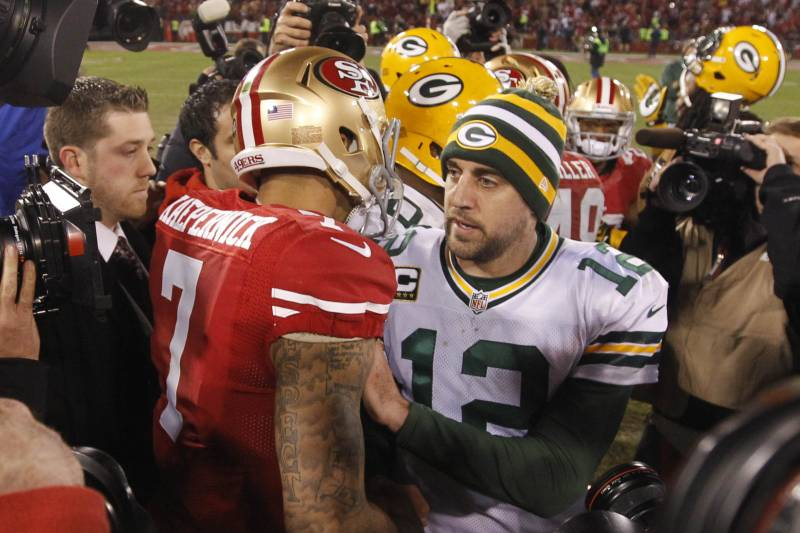 buy popular 8c06d c7729 49ers vs. Packers: Why Colin Kaepernick Will Earn 3rd Win ...