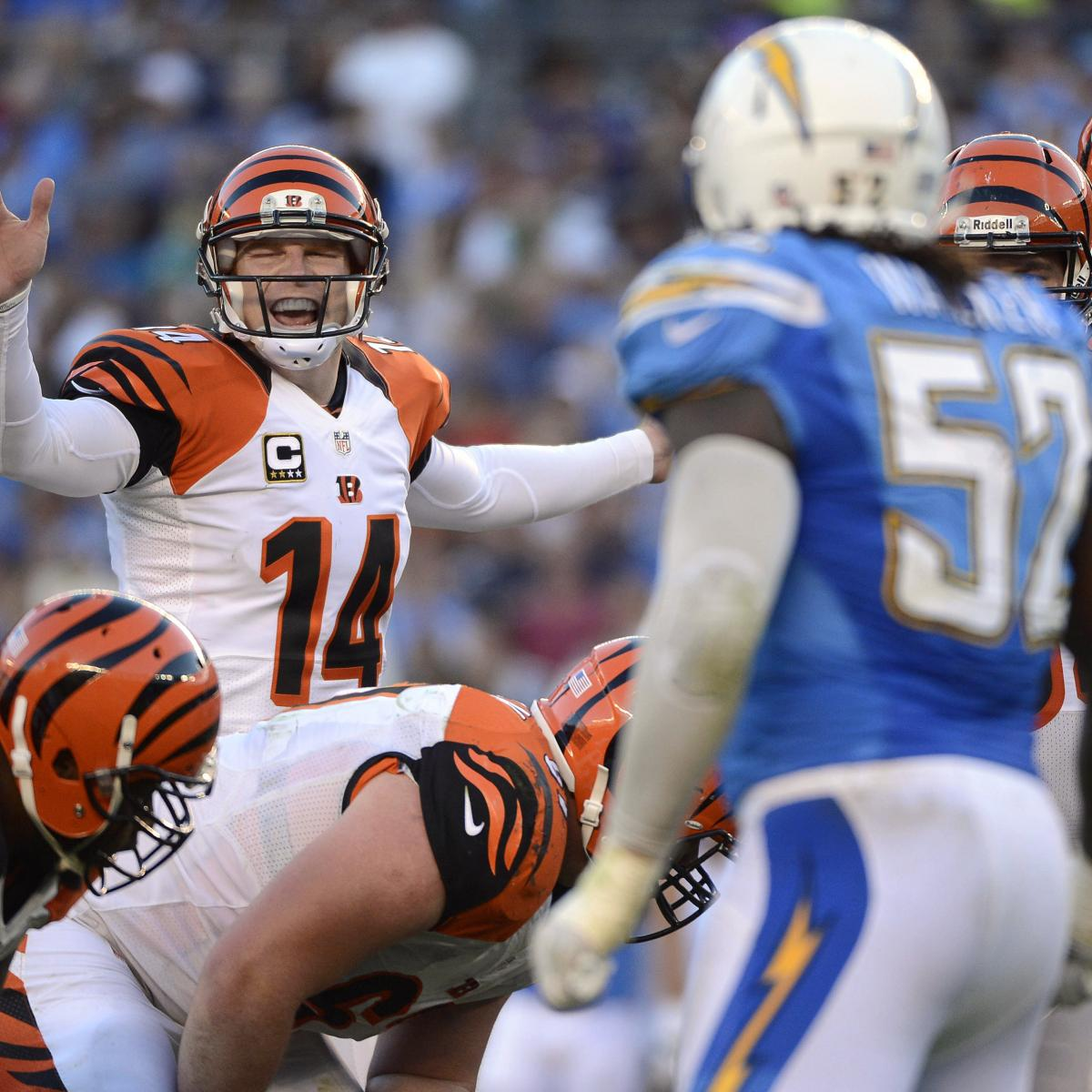 San Diego Chargers Cincinnati Bengals: Chargers Vs. Bengals: Full Preview And Prediction For AFC