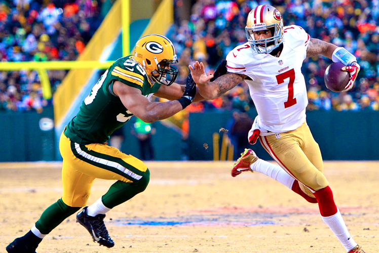 cc8cb3d7 49ers vs. Packers: Live Score, Highlights for Wild Card Weekend 2014 ...
