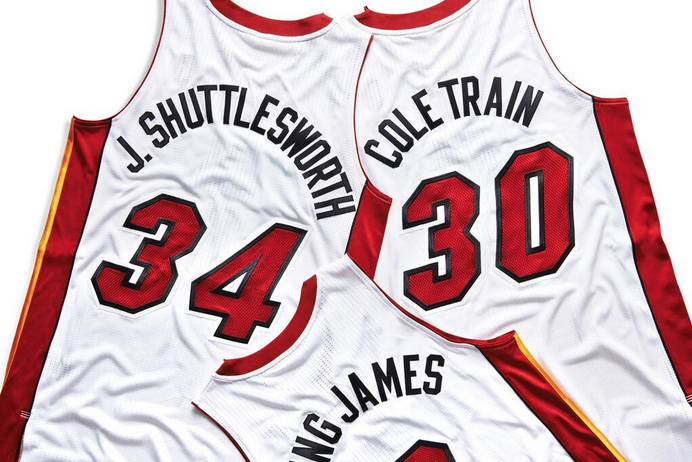 online retailer 100f6 d74a9 Miami Heat Reveal Nicknames on Jerseys for Every Player on ...