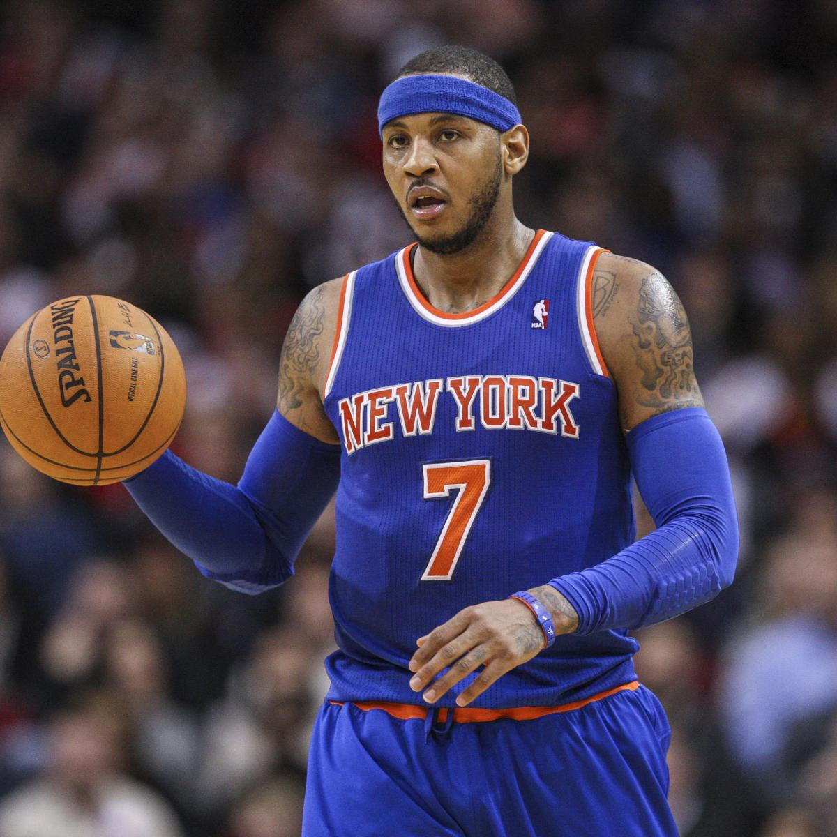 5 NBA Teams That Would Be Best Potential Fits For Carmelo