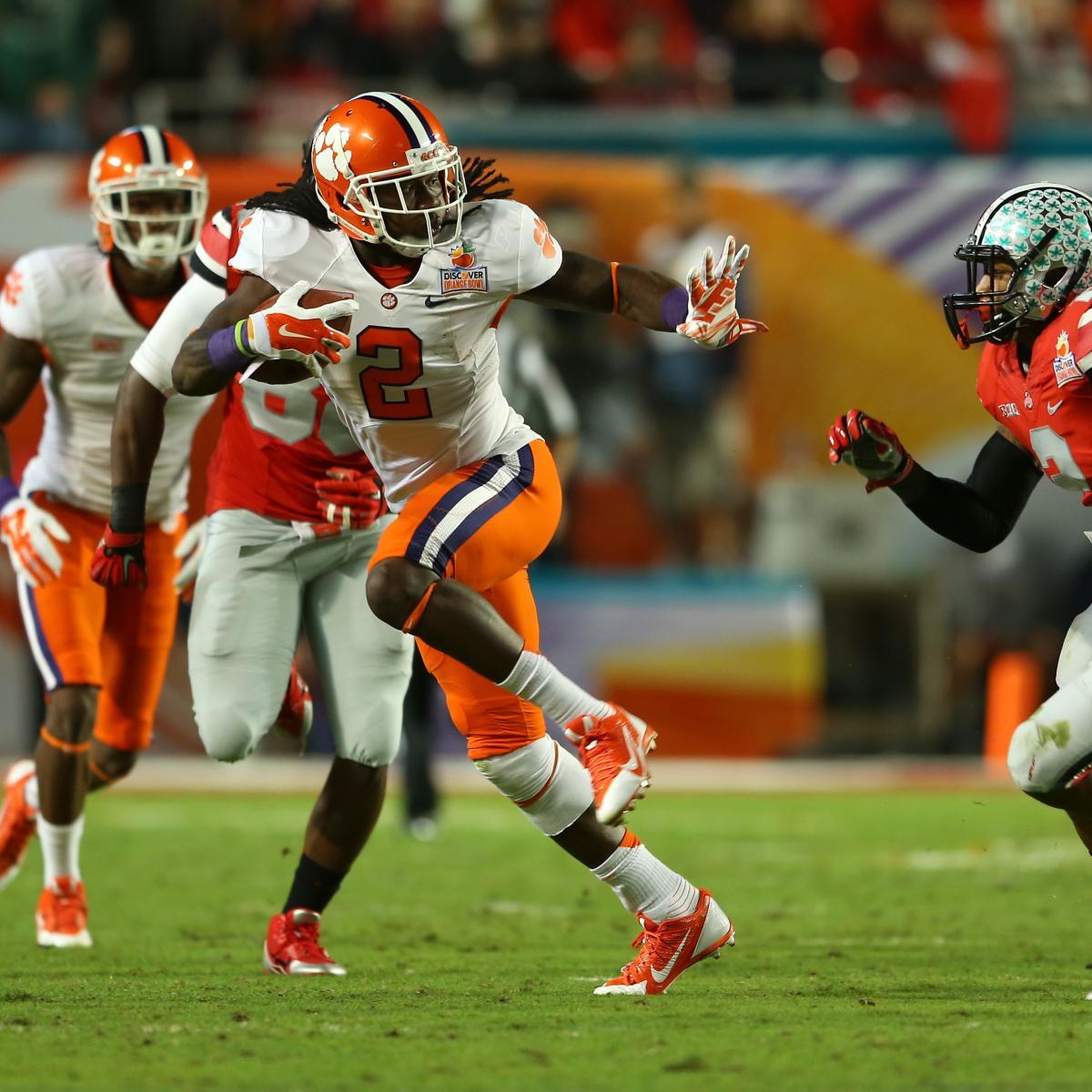 How Departures NFL Football:  Clemson Draft Affect Will