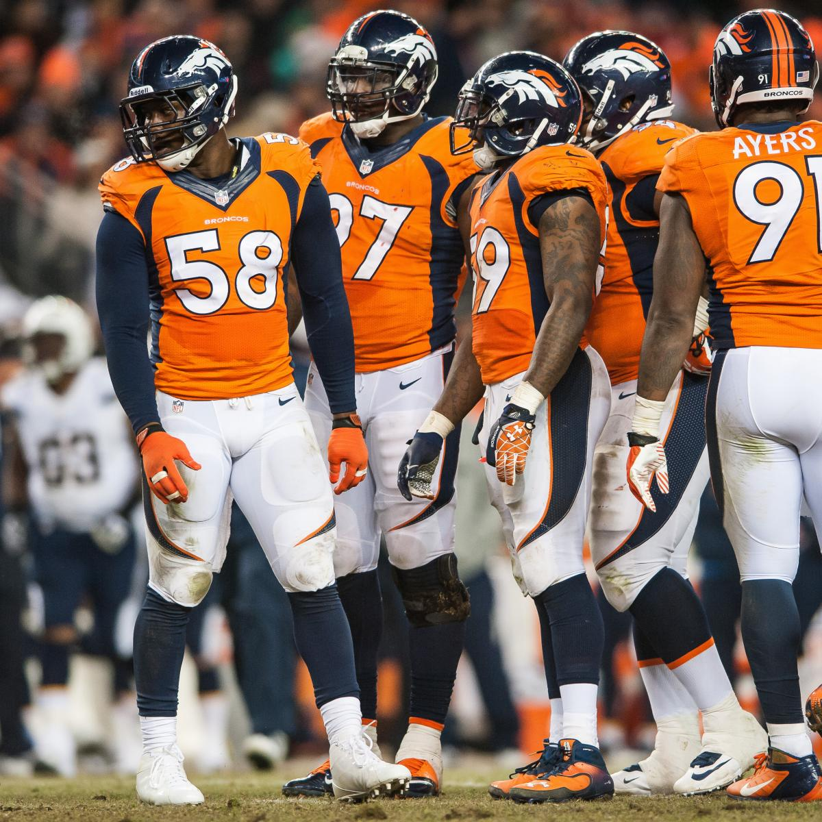 San Diego Chargers Defence: Chargers Vs Broncos: Why The Denver Run Defense Holds The