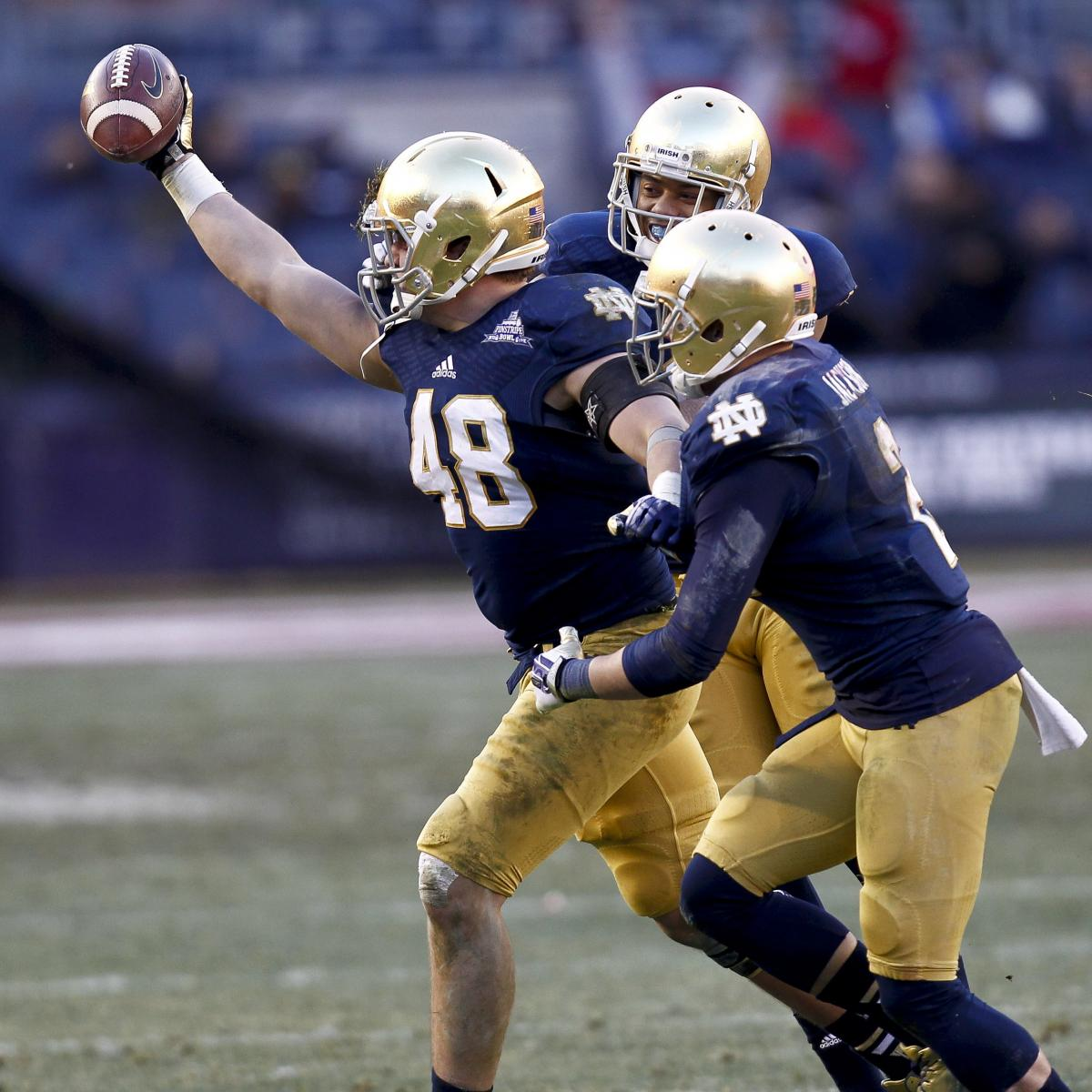 Notre Dame Will Switch to Under Armour Brand for All Apparel ... e38f294a2