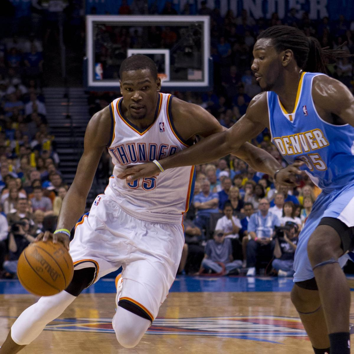 Nba To Nfl Crossover Nuggets Forward Kenneth Faried: Kevin Durant Breaks Kenneth Faried's Ankles