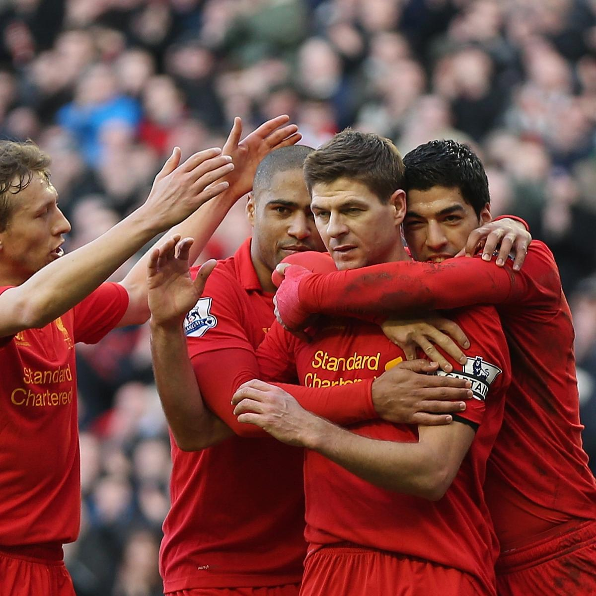 Luis Suarez And Steven Gerrard Reunited: Liverpool Transfer News: Luis Suarez Tipped To Attract Big