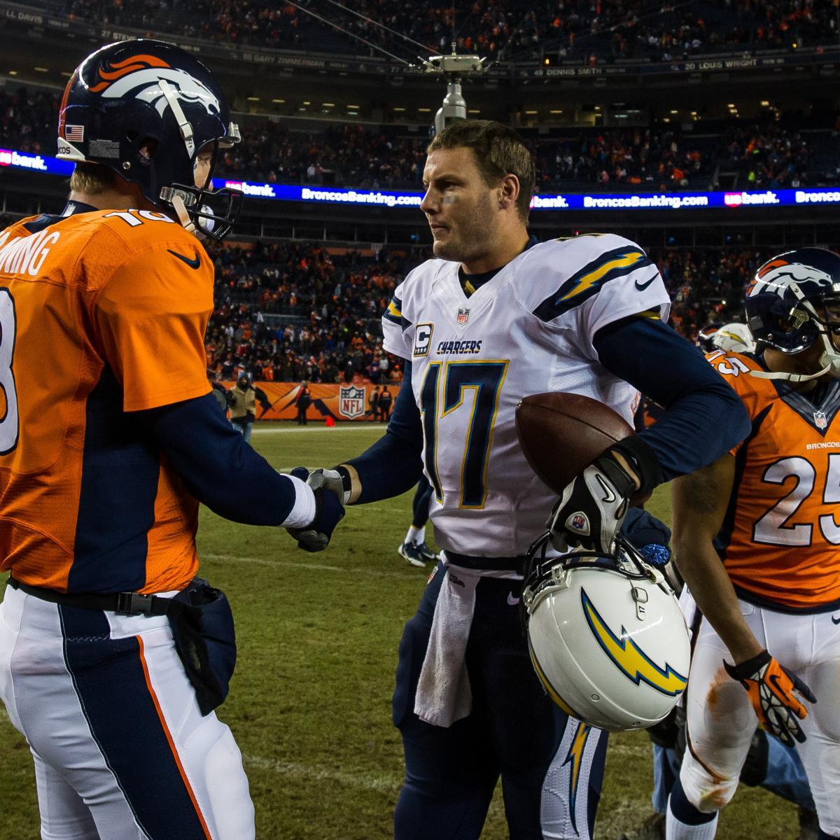 San Diego Chargers Vs. Denver Broncos: Live Score