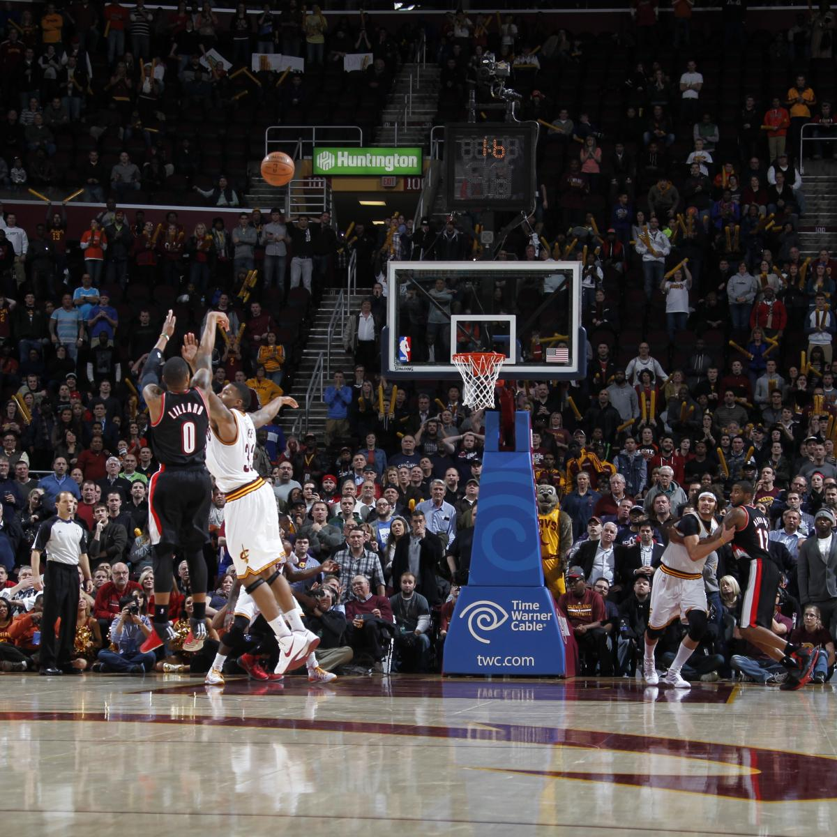 Portland Blazers Game Score: Portland Trail Blazers' Ridiculously Hot 3-Point Shooting