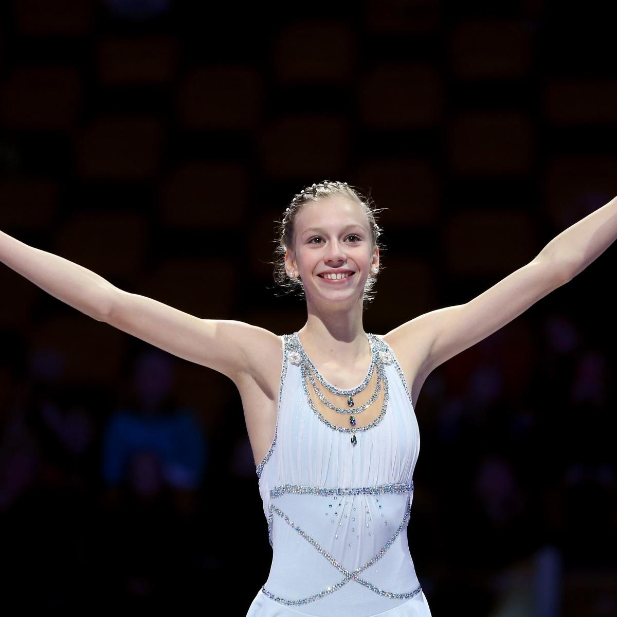 Newcomer Polina Edmunds The Present And Future Of US