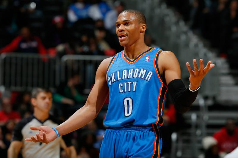 Will Russell Westbrook Have to Change His Playing Style to Prolong ... 457449a7b