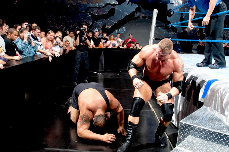 Image result for brock lesnar lifting big show