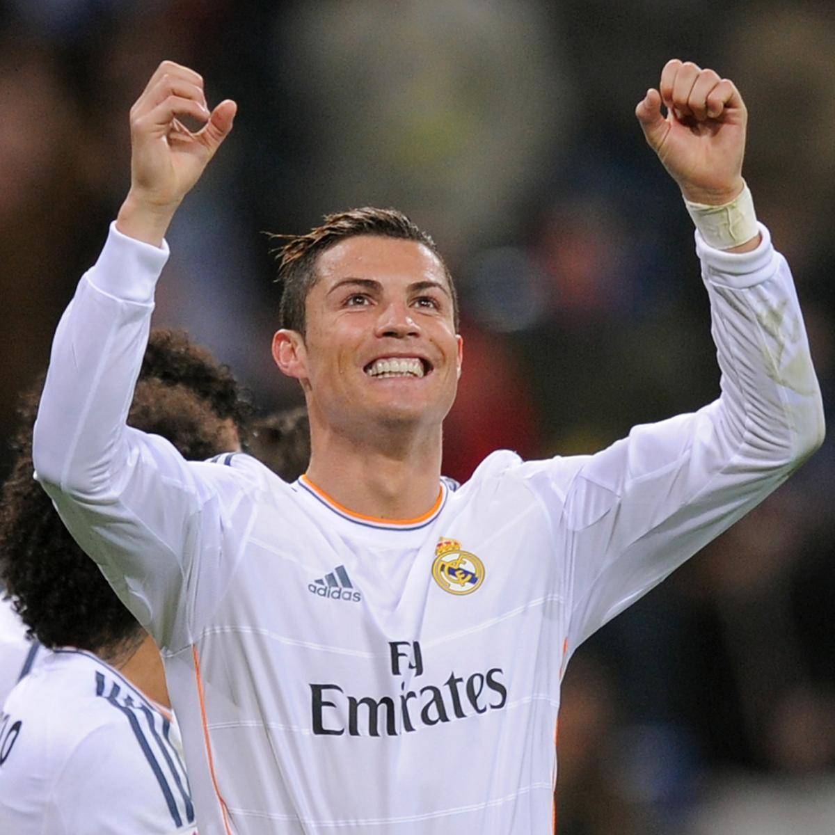 Cristiano Ronaldo S 4 Goals Lead Real Madrid To Win Vs: Osasuna Vs. Real Madrid: Score, Grades And Post-Match