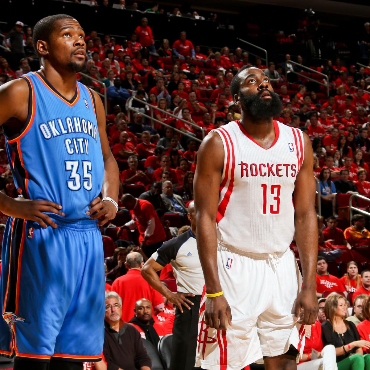 Houston Rockets Vs Oklahoma City Thunder: Oklahoma City Thunder Vs. Houston Rockets: Full Preview