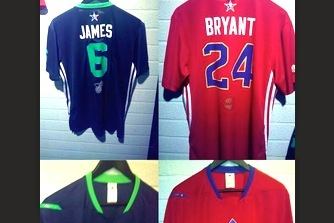 1b425c20551 2014 NBA All-Star Game Jerseys Revealed