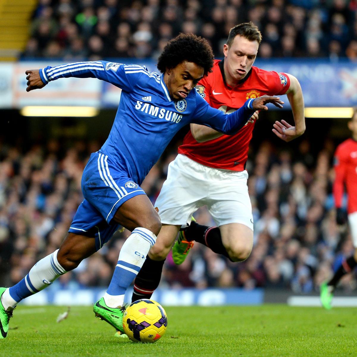 Psg Vs Manchester City Live Score Highlights From: Chelsea Vs. Manchester United: Premier League Live Score