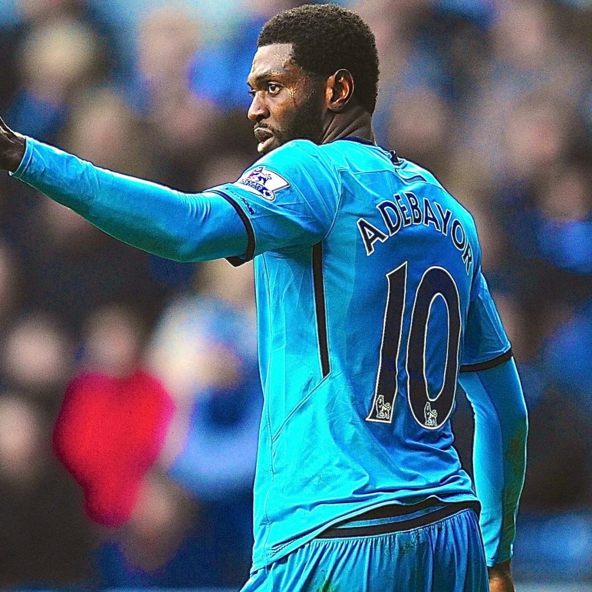 Who Will Lead The Attack For Tottenham In The Absence Of: Emmanuel Adebayor, Christian Eriksen Lead As Spurs' Form