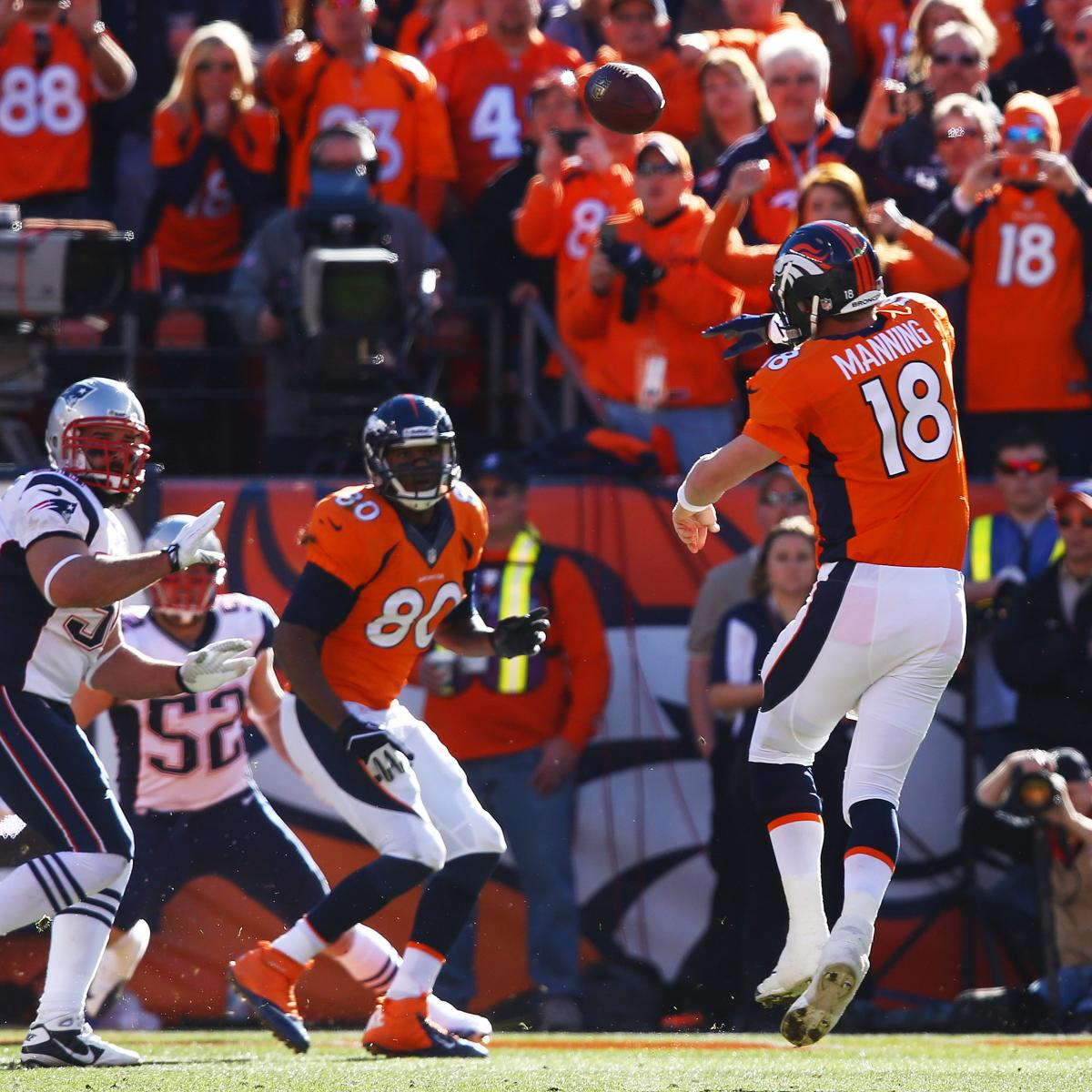 The Latest Denver Broncos News Bleacher Report: Patriots Vs Broncos: Live Score And Reaction For AFC