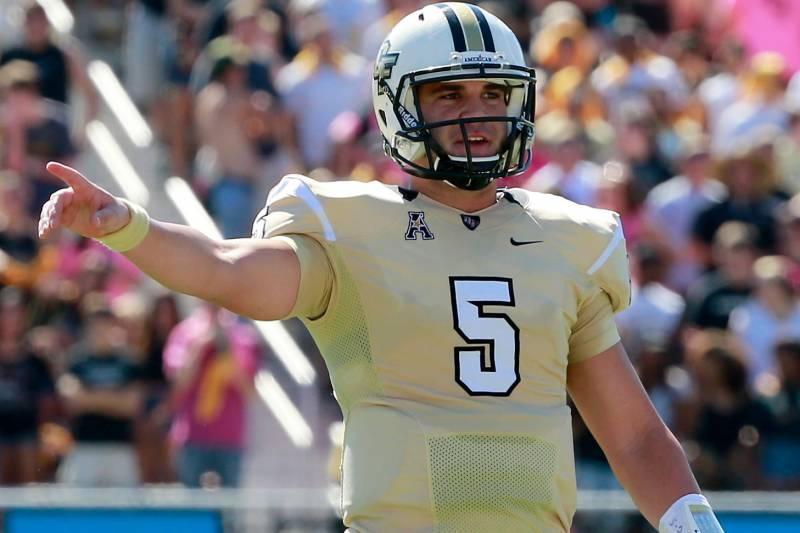 super popular 66217 c5e3f Blake Bortles NFL Draft 2014: Highlights, Scouting Report ...