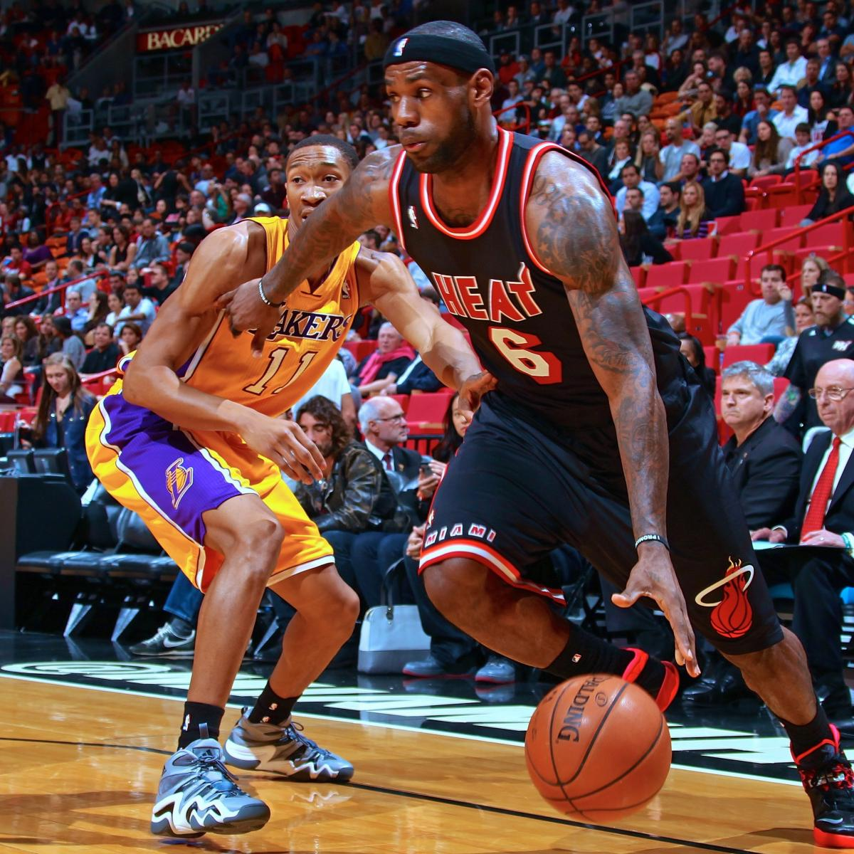 96d972d11d4 Los Angeles Lakers vs. Miami Heat  Live Score and Analysis ...