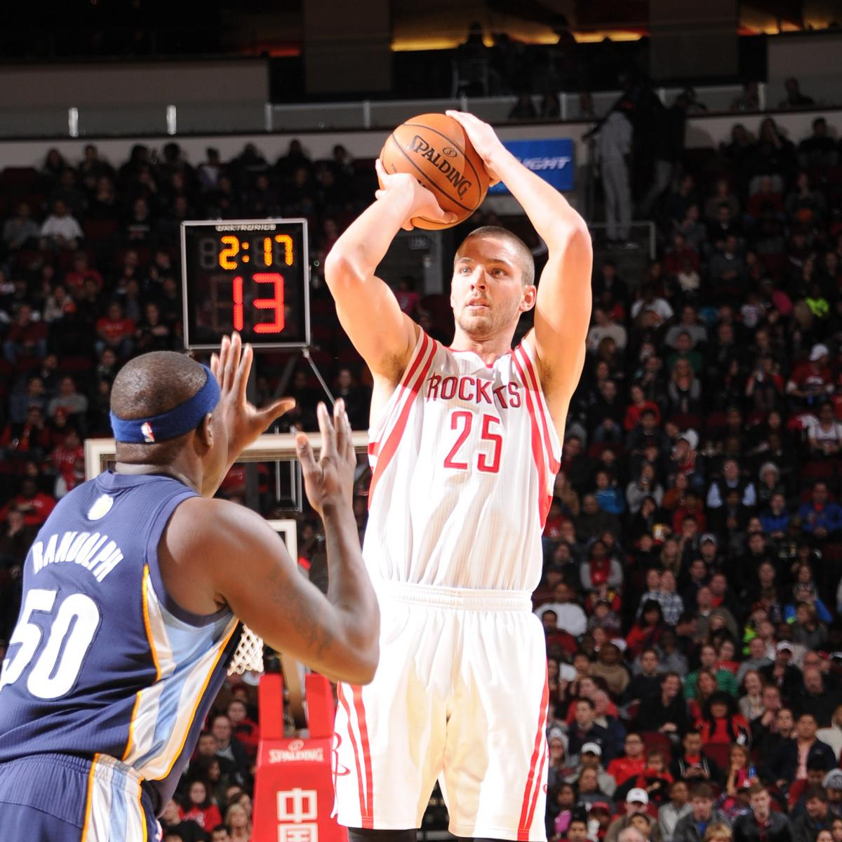 Houston Rockets 3rd Quarter Stats: Chandler Parsons Hits 10 Threes In 1 Half, Sets NBA Record