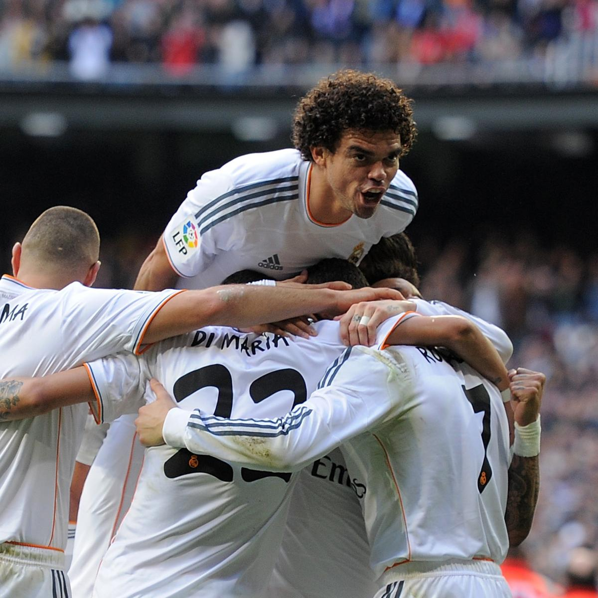 Real Madrid Vs Granada Live Player Ratings For Los Blancos