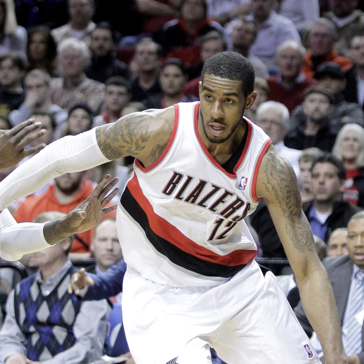 LaMarcus Aldridge Done As Robin, Pleased To Be Portland