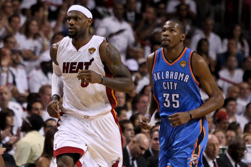 9f4088fcc2b The Ultimate Kevin Durant-LeBron James Comparison