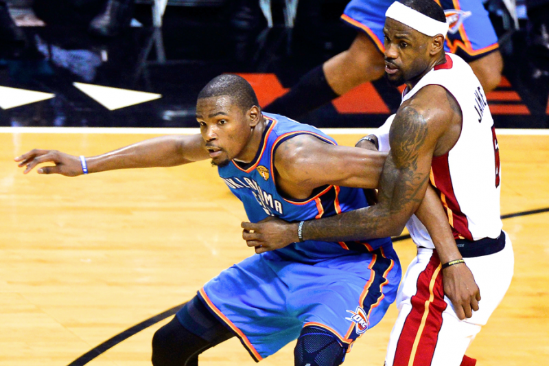 With the MVP Award Hanging in the Balance, How Hard Will LeBron Push Durant?