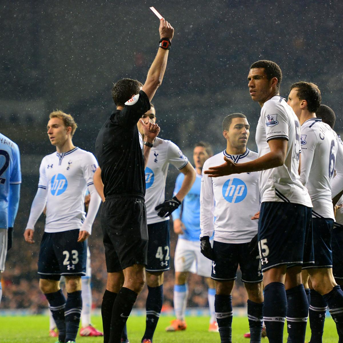 Who Will Lead The Attack For Tottenham In The Absence Of: Danny Rose Red Card: How Tottenham Will Cope In Defender's