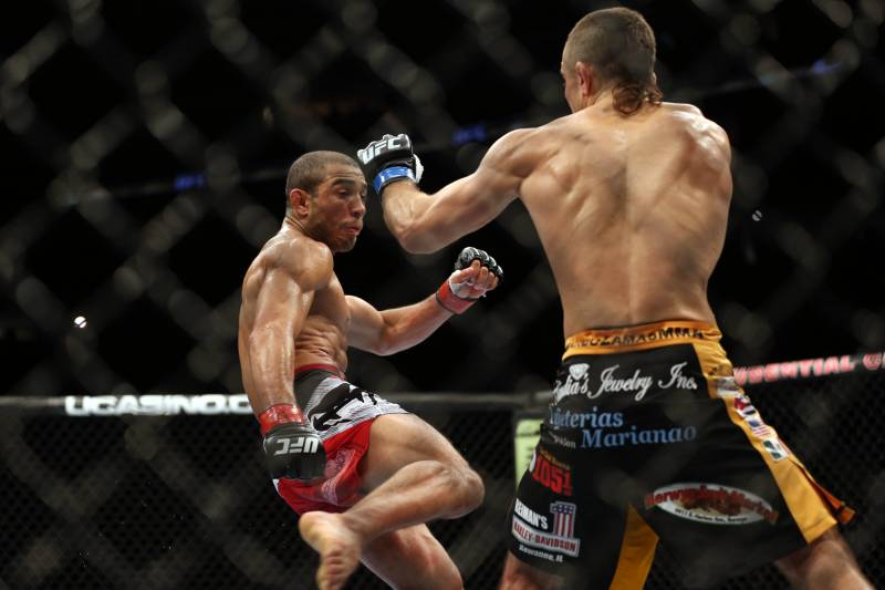 Ricardo Lamas Shows off Left Leg After UFC 169 Battle with Jose ... Petr Yan